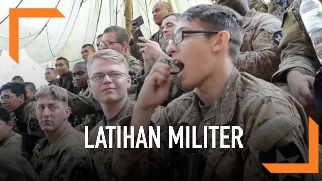 Sejumlah negara mengikuti latihan militer gabungan di Thailand. Mereka dilatih untuk bisa bertahan hidup.