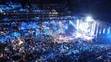Konser-konser berikut ini menghadirkan artis-artis yang sangat dinantikan para penonton, hingga menyedot penonton terbanyak di dunia.
