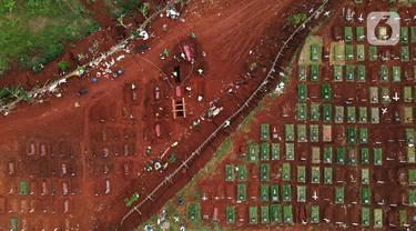 Krisis Lahan Pemakaman Jenazah Covid-19 di Jakarta