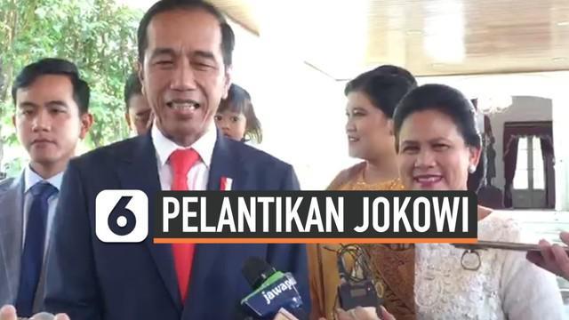 Joko Widodo akan memperkenalkan kabinet periode keduanya esok pagi. Jokowi menjelaskan susunan kabinetnya sudah rampung disusun, dan akan diperkenalkan kepada Ma'ruf amin.