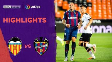 Berita Video Highlights La Liga, Valencia Ditahan Imbang Levante 1-1