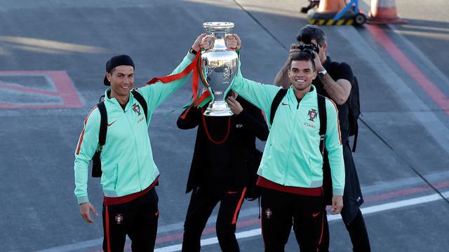 Mandul Di Liga Ronaldo Tetap Jadi Tumpuan Portugal Hadapi Swiss Bola Liputan6 Com