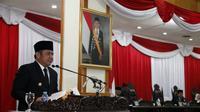 Gubernur Sumsel Herman Deru akan menetapkan Pergub Pemanfaatan Tenaga Kerja Lokal Sumsel di tahun depan (Dok. Humas Pemprov Sumsel / Nefri Inge)