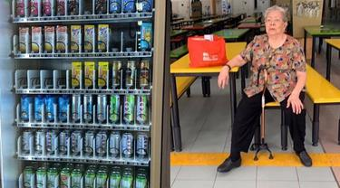 Nenek Ini Diusir Setelah 60 Tahun Jualan Minum, Bikin Sedih