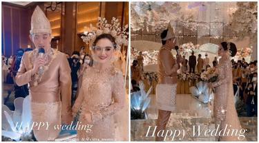 7 Potret Resepsi Pernikahan Ifan Seventeen dan Citra Monica, Penuh Bahagia