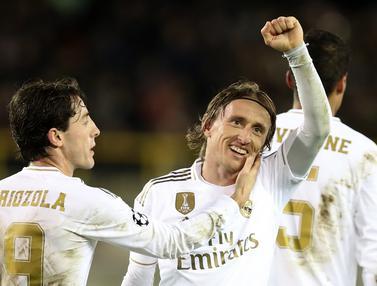 Real Madrid Menang 3-1 di Kandang Club Brugge