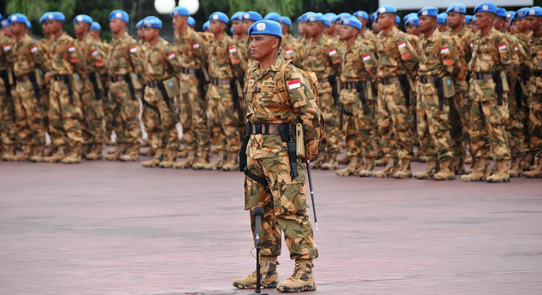 800 Prajurit TNI Satuan Tugas Batalyon Komposit TNI Kontingen Garuda akan bertugas sebagai Pasukan Pemeliharaan Perdamaian Misi PBB di Darfur, Sudan, Afrika Utara. (Istimewa)