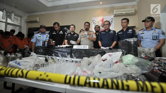 Sindikat Liquid Vape Narkoba, Polisi Kembali Ringkus 5 Tersangka