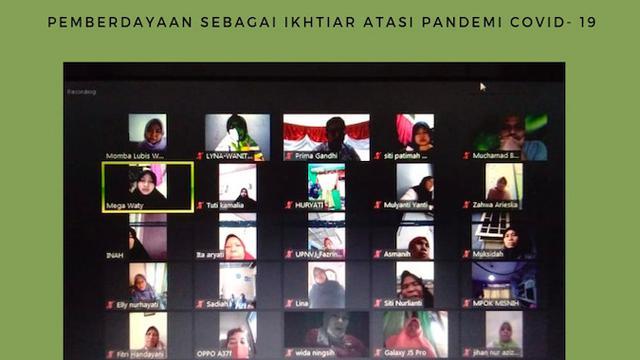 Diskusi PP Wanita Perisai terkait pemberdayaan kaum ibu. (Istimewa)
