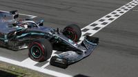 Lewis Hamilton juara Formula 1 GP Spanyol. (Jon Nazka/Reuters Pool Via AP)