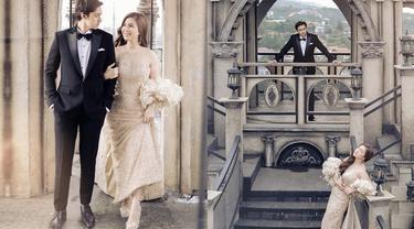6 Gaya Prewedding Felicya Angelista dan Caesar Hito, Bak Putri dan Pangeran