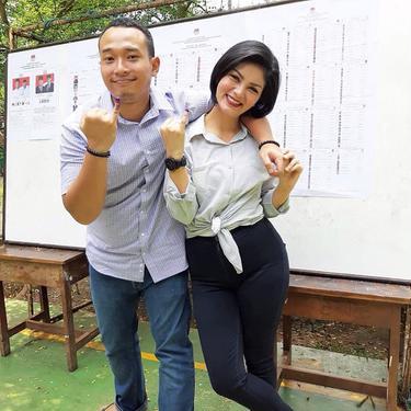 Intan RJ dan sang suami, Wahyu Indra Utama (Instagram/intanrj22 )