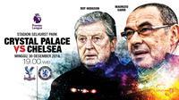 Crystal Palace vs Chelsea (Liputan6.com/Abdillah)