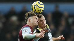 Solskjaer kepincut dengan penampilan Grealish yang mengesankan. Sebelum Premier League dihentikan, total 7 gol dan 7 assist telah ia sumbangkan untuk Villa. (AFP/Adrian Dennis)