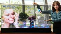 TV cermin transparan 55 inci ini diklaim lebih unggul daripada TV dengan layar LCD