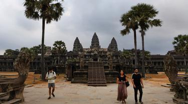 Mengunjungi Candi Angkor Wat Kamboja Kala Heboh Corona