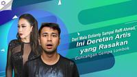 Maia Estianty, Raffi Ahmad, dan deretan artis lain yang rasakan gundangan gempa Lombok. (Foto: Febio Hernanto/Bintang.com Instagram/maiaestiantyreal Desain: Nurman Abdul Hakim/Bintang.com)