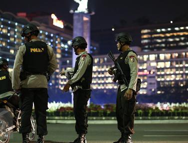 20160706-Pengamanan Ketat Jalan Protokol Ibu Kota Pasca Bom Solo