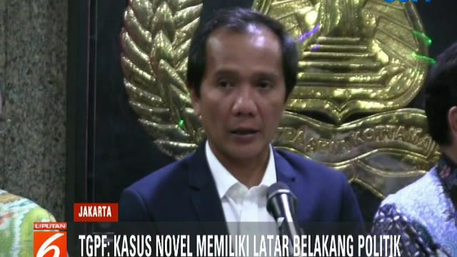 TGPF juga mengaku memiliki temuan-temuan baru terkait kasus penyerangan Novel Baswedan.