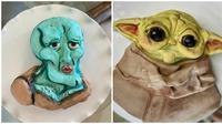 Kue berbentuk animasi (Sumber: Boredpanda)