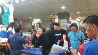 Penjual jersey di Tanah Abang ketiban untung saat piala dunia 2018 (Dok Foto: Merdeka.com/Dwi Aditya Putra)
