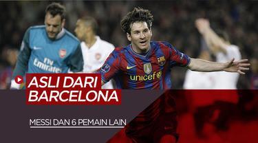 Berita Video Lionel Messi dan 6 Pemain Produk Asli Barcelona Termahal Saat Ini