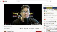 Tangkapan layar channel Youtube Jozeph Paul Zhang. (Istimewa)