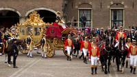 Gouden Koets milik kerajaan Belanda digunakan tiap tahun (Kementerian Pertahanan Belanda/ministerie van Defensie)