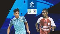 BRI Liga 1 - Duel Antarlini - Persela Lamongan Vs Persipura Jayapura (Bola.com/Adreanus Titus)