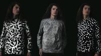 Serangkaian pakaian memiliki kemampuan berganti-ganti pola sesuai dengan kadar polusi di lingkungan sekitarnya. (Sumber Aerochromics via Gizmag)
