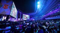 Damwon Gaming menjuari League of Legends World Championship 2020. (Doc: Zhang Lintao / Riot Games)