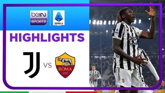 Berita Video, Hasil Pertandingan Juventus Vs AS Roma pada Senin (18/10/2021)