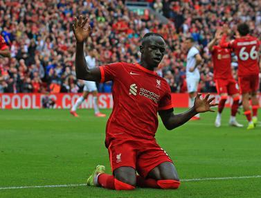 Foto: Tampil di Depan Publik Sendiri, Liverpool Berhasil Tekuk Burnley pada Pekan Kedua Liga Inggris