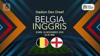 Belgia vs Inggris (Liputan6.com/Abdillah)