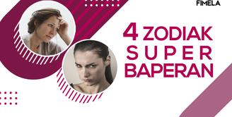 4 Zodiak Super Baperan