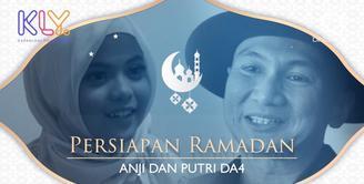 Begini persiapan yang dilakukan Anji dan Putri DA 4 menjelang Ramadan.