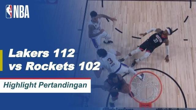 Berita VideoLeBron James Catatkan Rekor Saat LA Lakers Kalahkan Houston Rockets