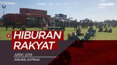 """Berita video Vlog Bola.com kali ini tentang balapan ARRC (Asia Road Racing Championship) 2019 yang menjadi seperti """"hiburan"""" rakyat kota Adelaide, Australia."""
