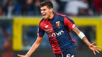 Striker muda Pietro Pellegri diminati AC Milan pada bursa transfer musim panas 2017. (twitter.com)
