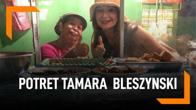 Bantu Gelandangan, Potret Kesederhanaan Tamara Bleszynski
