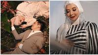 Momen maternity shoot Zaskia Sungkar usai 10 tahun penantian buah hati. (Sumber: YouTube/RIOMOTRET)
