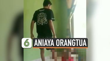 Kembali terjadi, seorang anak yang menganiaya orangtuanya. Peristiwa ini viral di media sosial. Ini terjadi di Kendal, Jawa Tengah.