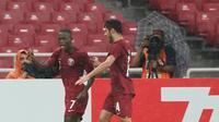 Abdulrasheed Umaru menjadi salah satu pemain Qatar U-19 yang wajib diwaspadai Timnas Indonesia U-19 di Piala AFC U-19 2018. (dok. AFC)