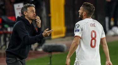 FOTO: Spanyol Ditahan Imbang 1-1 oleh Yunani - Koke; Luis Enrique