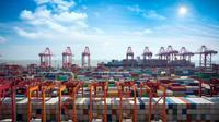 Ilustrasi pelabuhan (iStock)