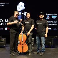Press conference konser Yo-Yo Ma Jakarta (Nizar Zulmi/Fimela.com)