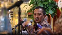 Direktur Umum dan SDM PT Perusahaan Gas Negara (PGN) Desima E Siahaan memberi sambutan dalam Rapat Umum Pemegang Saham Luar Biasa di Jakarta, Kamis (25/1. (Liputan6.com/Angga Yuniar)