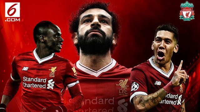 Infografis Trio Liverpool