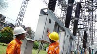 Kelima pembangkit tersebut yaitu PLTU Sumsel 8 2x600 MW, PLTU Sumsel 9 2x600 MW, PLTU Sumsel 10 1x600 MW, PLTU Batang 2x1.000 MW, dan PLTU Indramayu 1x1.000 MW. (Liputan6.com/Faizal Fanani)