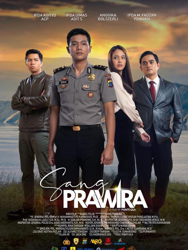 Film Sang Prawira Libatkan Perwira Polisi Sebagai Aktor